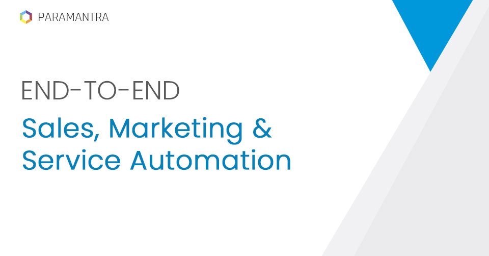End To End Sales & Marketing Automation